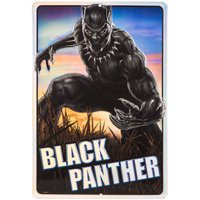 Black Panther Metal Sign Home Decoration Wall Art Theater Media Room Man Cave