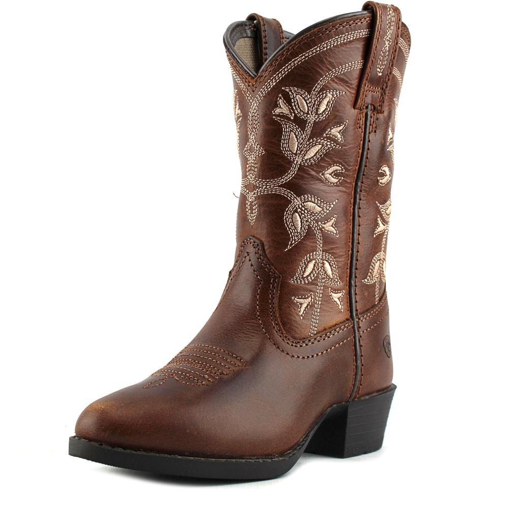 Ariat Desert Holly Pointed Toe Leather Western Boot by Ariat