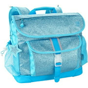Bixbee Sparkalicious Turquoise Kids Glitter Backpack - Medium - Patented Horizontal Design With Ergonomic Attributes - Plenty Of Space - Comfortable On Kid Shoulders With Cushy Padding - 3 (303002)