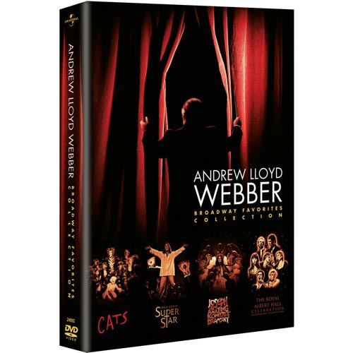 Andrew Lloyd Webber Broadway Favorites Collection (Cats   Jesus Christ Superstar   Joseph and the Amazing... by