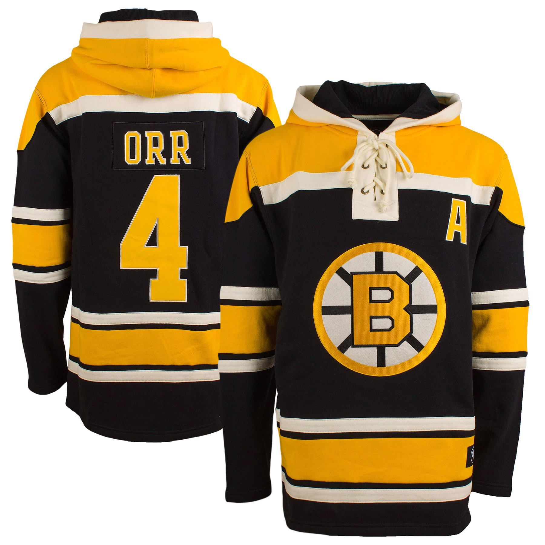 low priced 714e9 6d206 Boston Bruins Bobby Orr '47 Heavyweight Jersey Lacer Hoodie ...