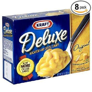 24 PACKS : Kraft Macaroni & Cheese Deluxe Dinner, Origina...