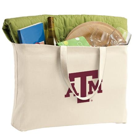 TAMU Aggies Tote Bag Large Texas A&M Shopping Bag