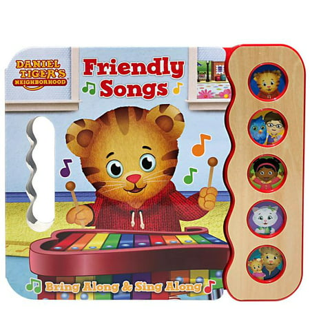 Daniel Tiger's Friendly Songs (Board Book)