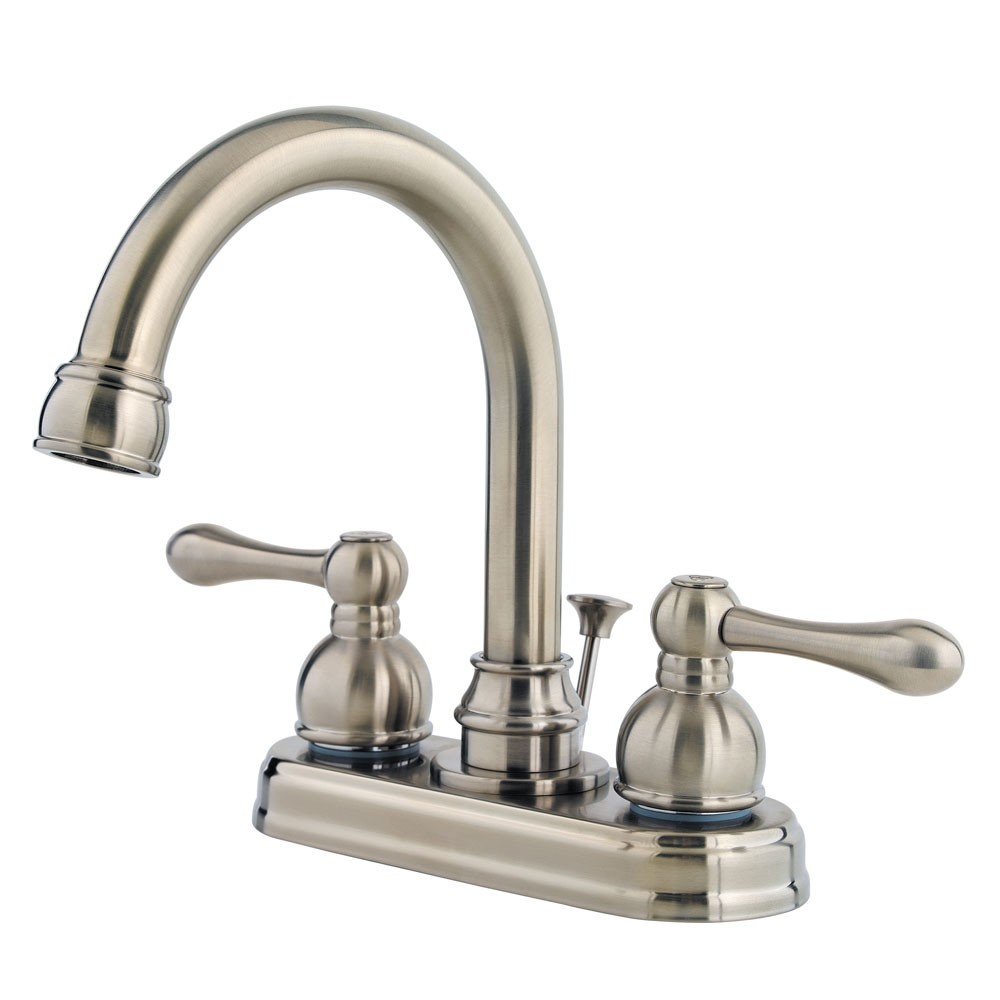 Pfister Wayland Centerset Bathroom Faucet F-048-LHKK Brushed Nickel