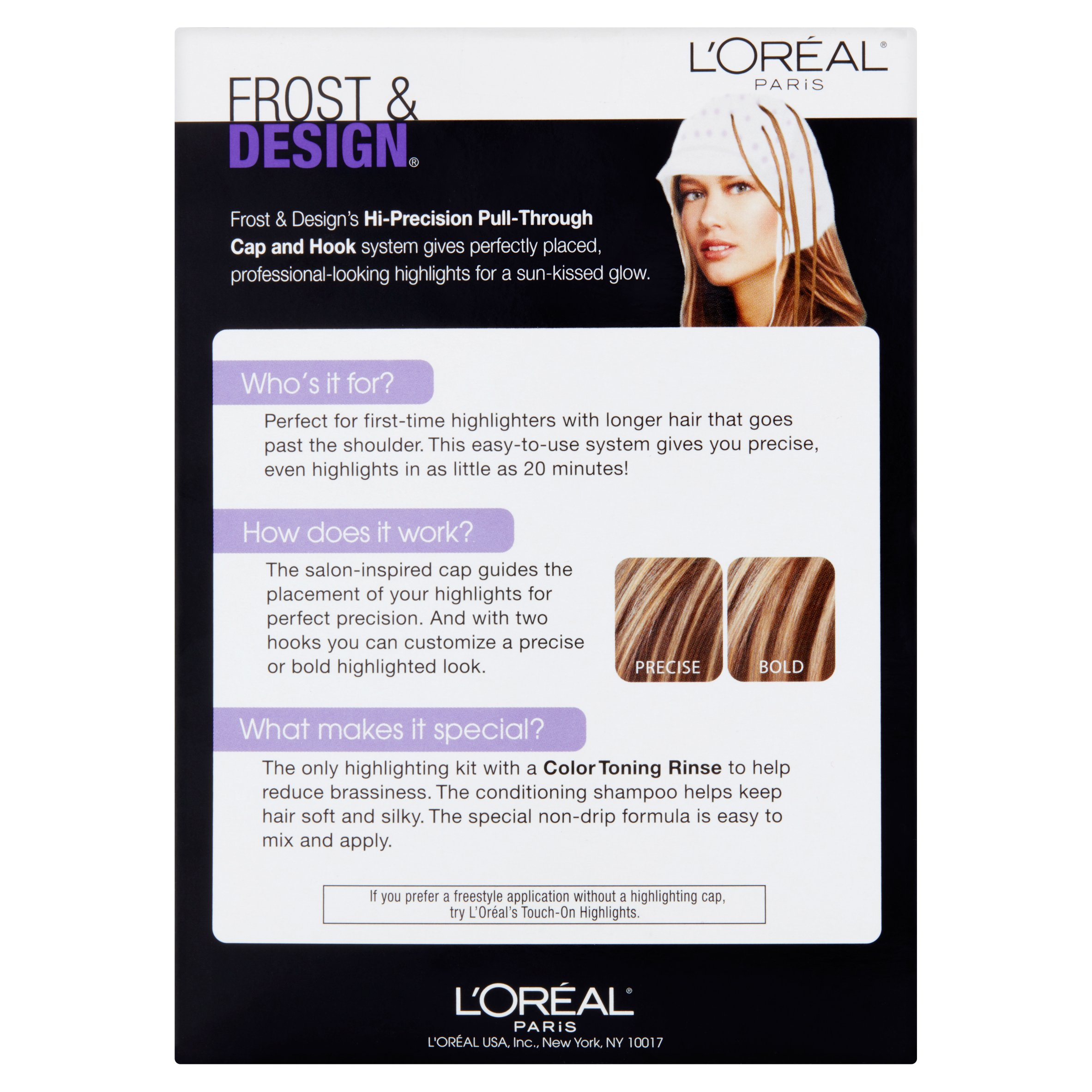 Loreal Paris Frost And Design Hi Precision Pull Through Cap