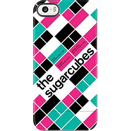Uncommon Case Capsule Two Piece Hard Shell Swissted Vintage Rock Art By Mike Joyce For Iphone Se   5S  5   The Sugarcubes