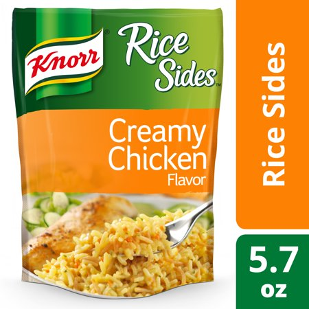 Knorr Rice Sides Creamy Chicken Rice Sides Dish 5 7 Oz