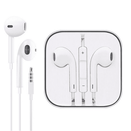3.5mm Headphones, In-Ear EarBuds for Apple iPhone 6 6S 5S 5 SE 4S 4 3Gs iPod Touch 6th 5th 4th 3rd Generation iPad Laptop PC MP3 MP4 In Ear White Headphone Headset EarbudS EAR BUDS Ipod Earbuds Accessory
