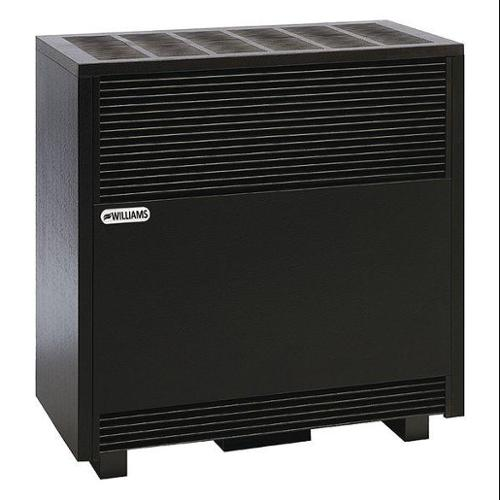 WILLIAMS COMFORT PRODUCTS 5001521A Hearth Heater,Top,LP,50000BtuH,Radiant