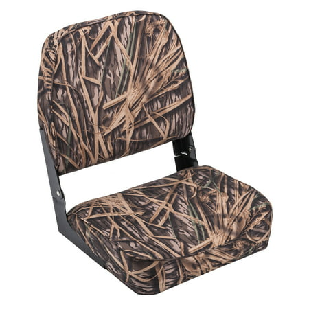 Wise 8WD618PLS-729 Low Back Camo Boat Seat, Mossy Oak Shadow Grass