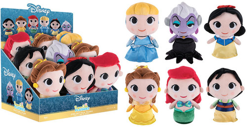 Disney Princess 2017, Toy NEU Supercute Plush One Figure Per - Funko Plush: