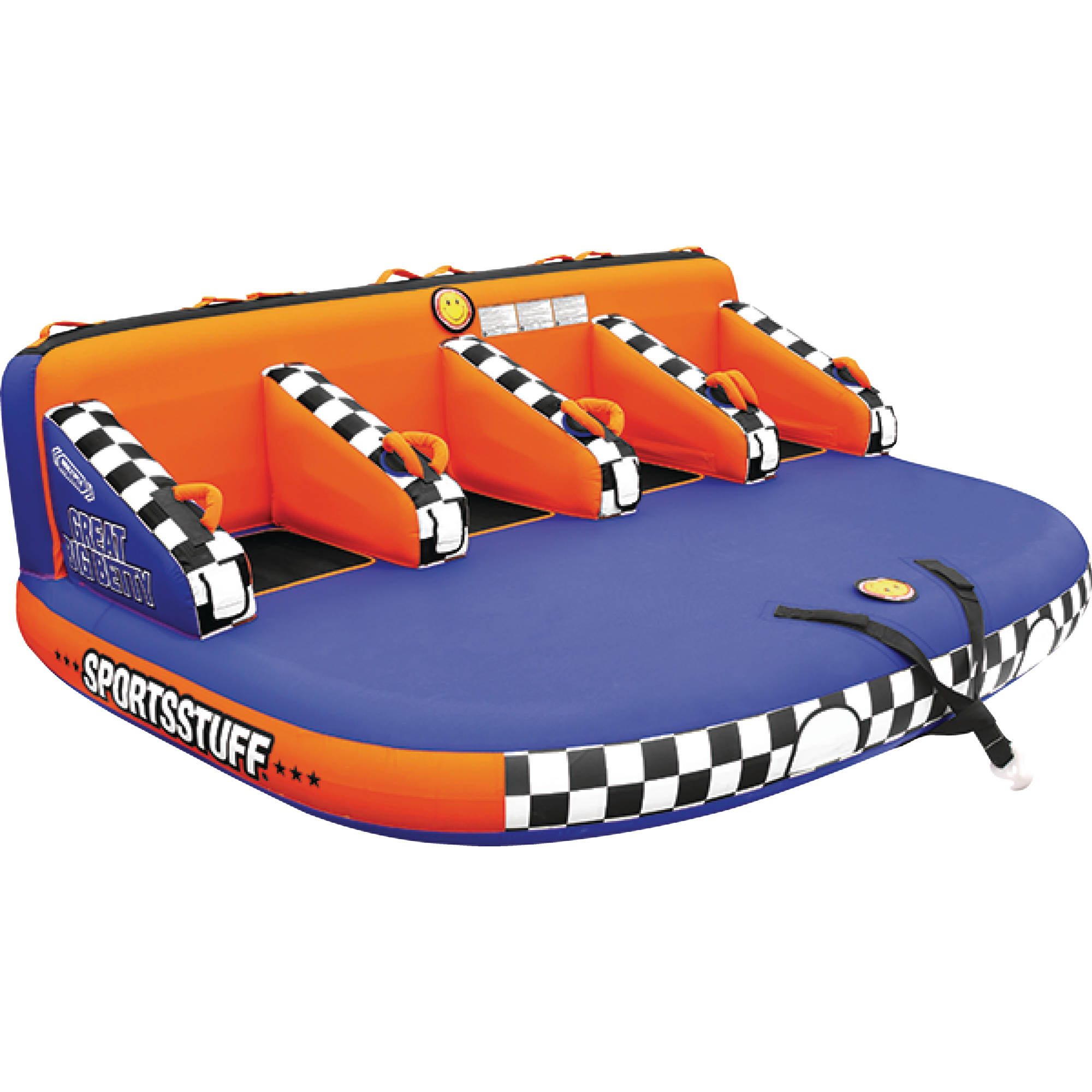 Sportsstuff 53-3004 Great Big Betty Inflatable Towable, 1-4 Rider by Kwik Tek