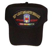 US ARMY 199TH LIGHT INFANTRY BRIGADE VIETNAM VETERAN HAT CAMPAIGN RIBBONS