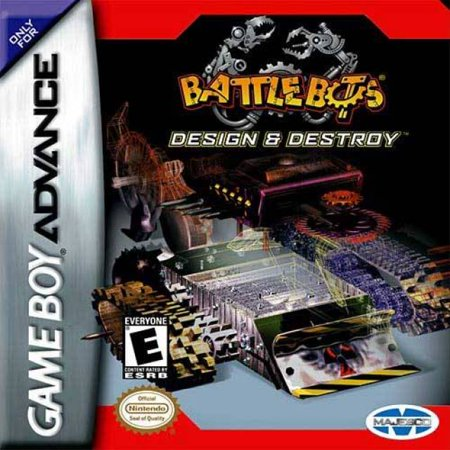 Battlebots Design & Destroy GBA (Best Gba Games List)