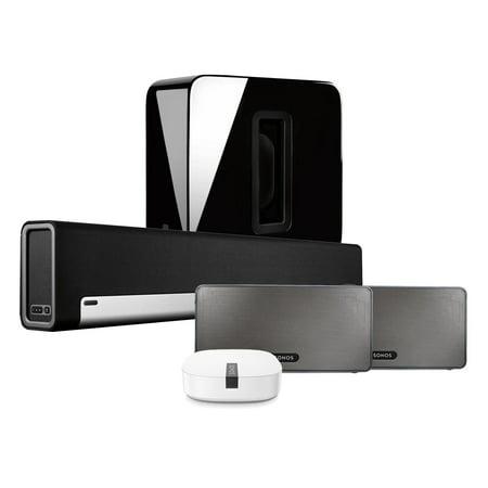 Sonos Home Theater Kit  Playbar  Sub  2X Play3 Black  Boost