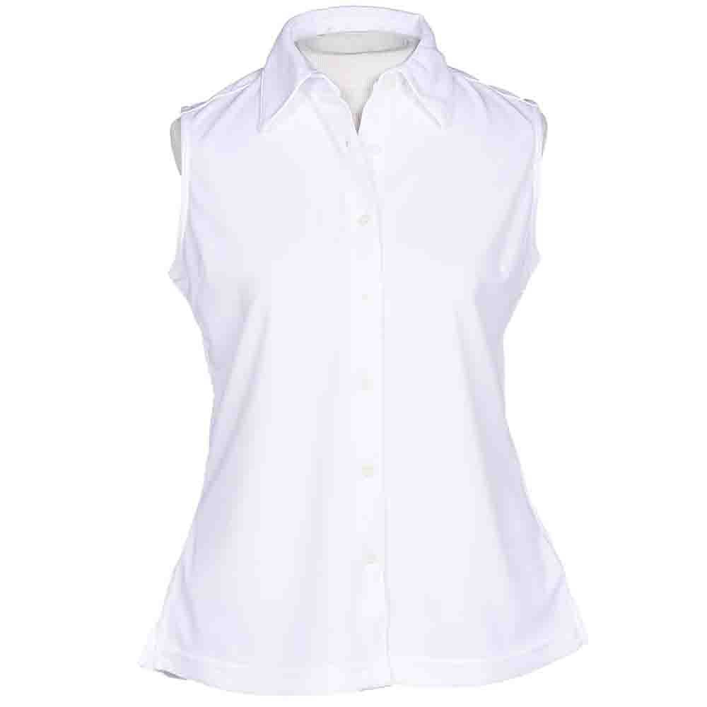 Page & Tuttle Womens Cool Swing Sleeveless Polo Casual Tops