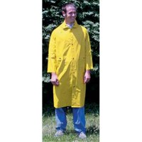 Yellow Fluorescent Raincoat-X-Large