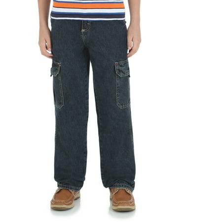Brown Corduroy Boys Overalls - Husky Boys' Classic Cargo Jean