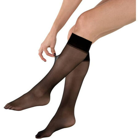 d9e9cb74e48 PEDS - Ladies Fusion Run Resistant Silky Soft Knee Highs