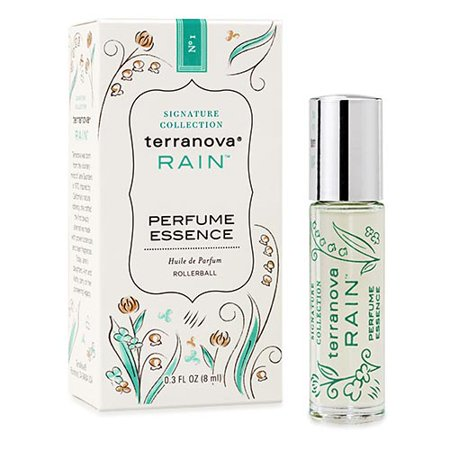 - Terranova Rain Perfume Essence Rollette Bottle - 0.33 Fl Oz