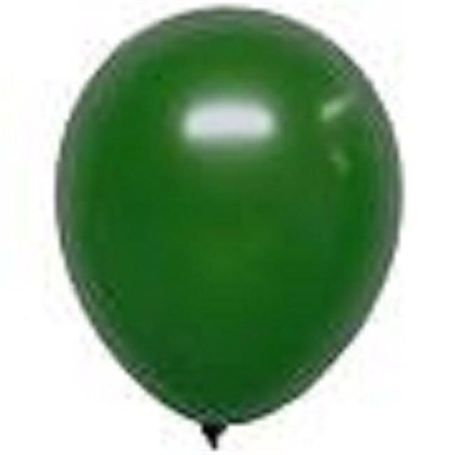 Unique 54556 12 in. Jade Green Pearlized Balloons, 8 Count