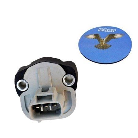 HQRP Throttle Position Sensor TPS for Dodge Jeep Mitsubishi 4882219 4882219AB 5017479AA 56027940 EC3208 5S5101 TPS333 TH190 Replacement + HQRP Coaster (Tps Mitsubishi)