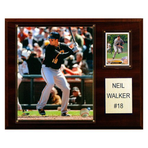 MLB 12 x 15 in. Neil Walker Pittsburgh Pirates Player Plaque