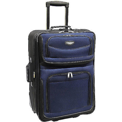 "Traveler's Choice Amsterdam 25"" Expandable Wheeled Upright Suitcase"
