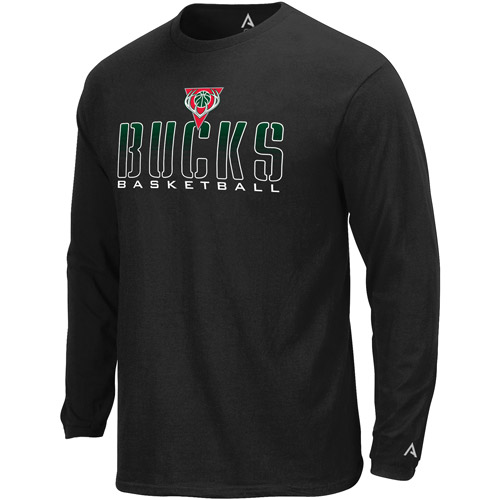 NBA Men's Milwaukee Bucks Long Sleeve Tee