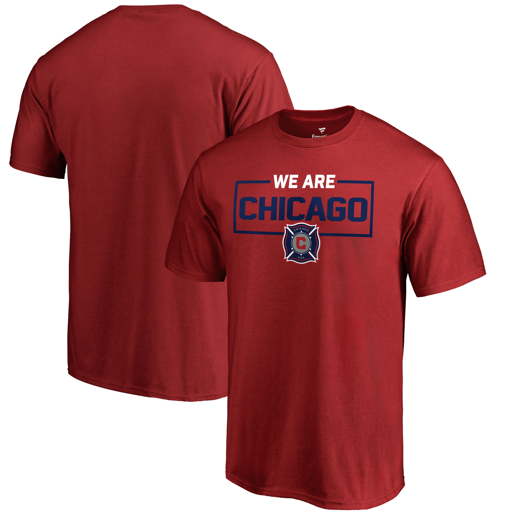 Chicago Fire Fanatics Branded We Are T-Shirt - Red