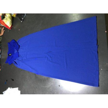 Off Shoulder Maternity Solid Color Chiffon Maxi Dress Causal Pregancy Dress - image 1 of 2