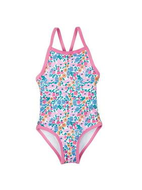 Toddler Girls One Piece Swimsuits Walmartcom