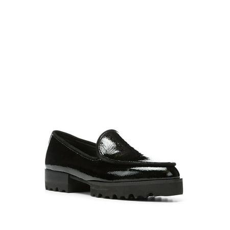Elen Patent Leather Loafers (Donald J Pliner Black Sandals)