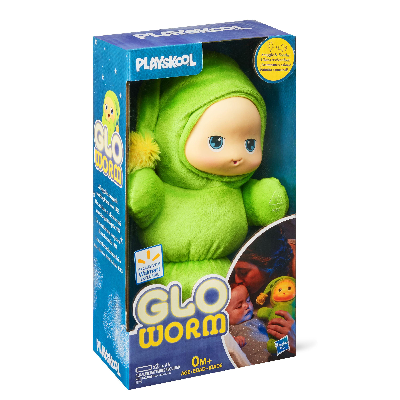 Playskool Cassic Glo Worm Plush Toy - Walmart Exclusive
