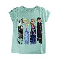Disney Store Girls Anna, Elsa, Olaf, Sven & Kristoff - Frozen Cast T-Shirt, XX-Small (2/3)