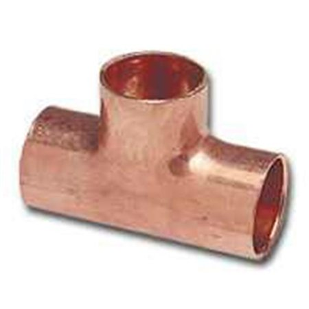 Copper Access Tee - 32704 .5 x .5 x .75 In. Wrot Copper Tee