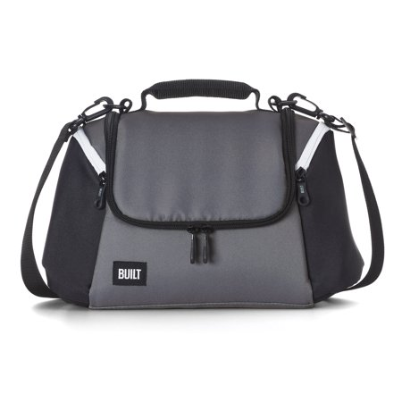 Built All Day Lunch Bag Black and Grey - Diy Lunch