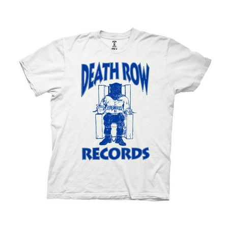 Death Row Records Blue Log Adult T-Shirt -