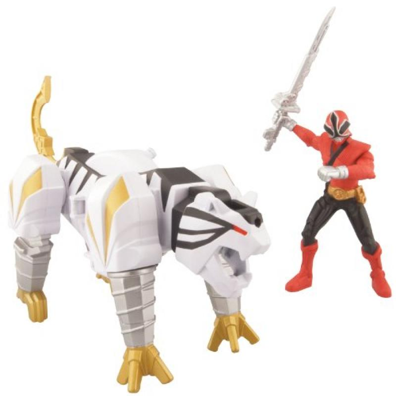 Power Ranger Zord Vehicle w/Figure, TigerZord with Red Ranger