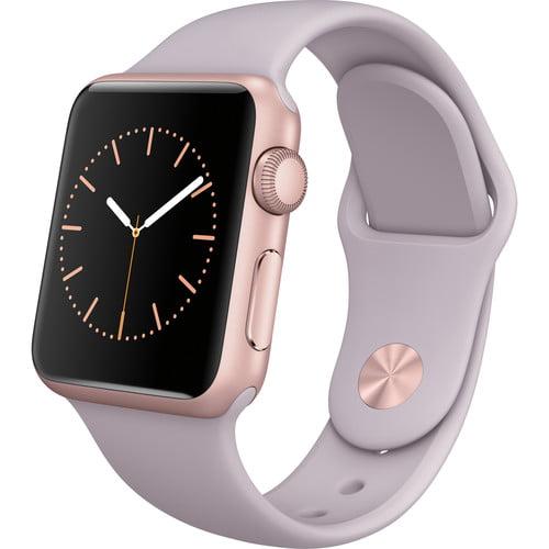 Refurbished Apple Watch Gen 1 Sport 38mm Rose Gold Aluminum - Lavender Sport Band MLCH2LL/A