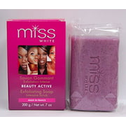 Miss White Beauty Active Exfoliating Soap 7oz By F&W