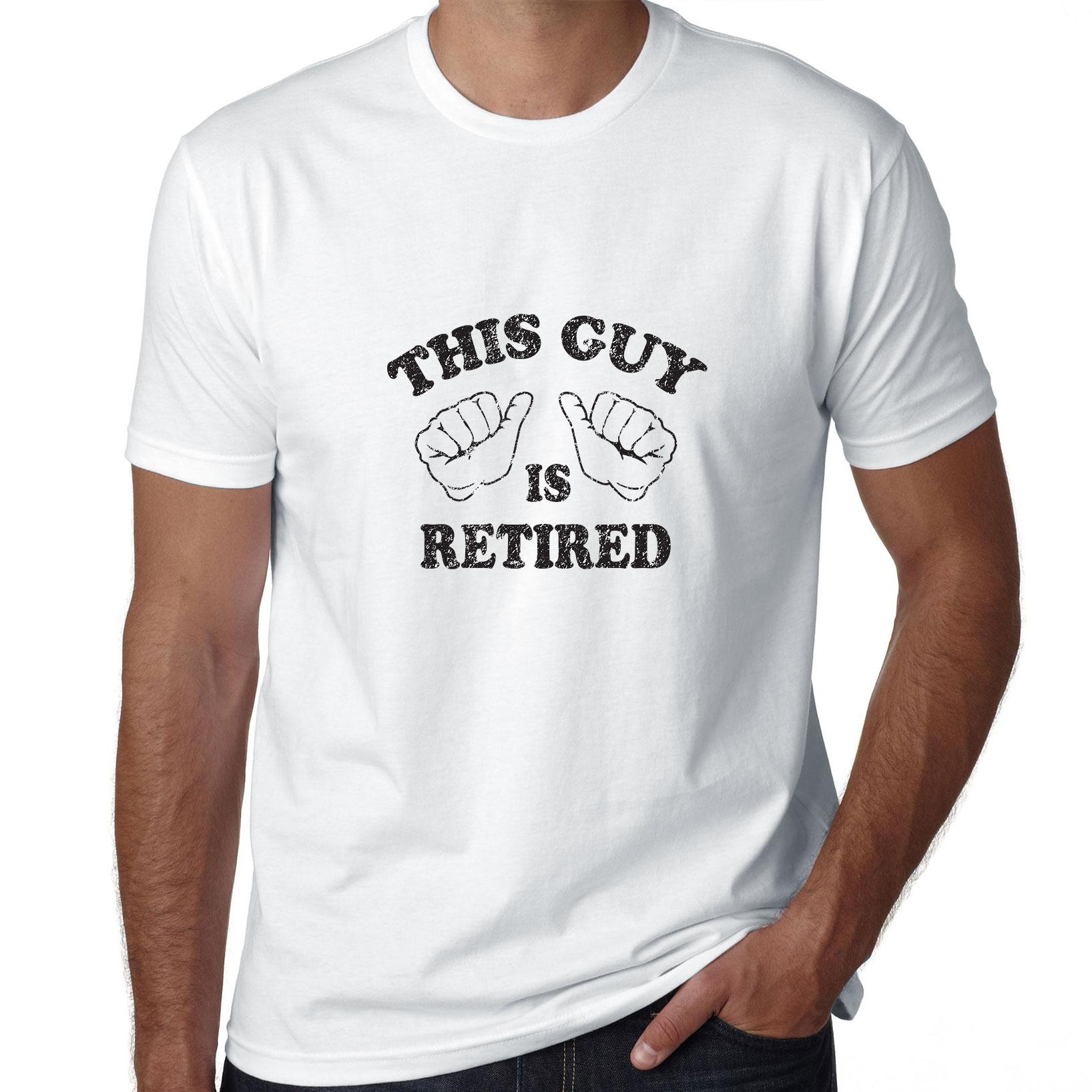 This Guy Is Retired - Classic Retirement Graphic Men's T-Shirt
