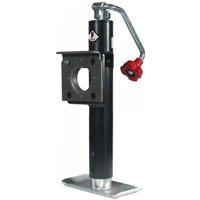 Valley FJ-020 Top Wind Flange Trailer Jack, 2000 lb, 10 in H