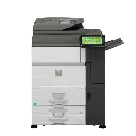 Refurbished Sharp MX-7040N Color Laser Production Printer - 70ppm, Print, Copy, Scan, Auto Duplex, Network, 1200x1200 dpi, 2 Trays, Tandem Tray