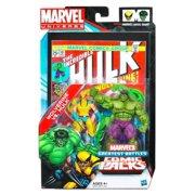 Marvel Universe Comic Pack - Wolverine vs. Hulk Action Figure Set - (Greatest Battles)