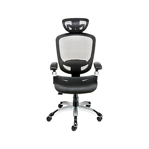 UNASSIGNED Staples Hyken High-Back Mesh Executive Chair