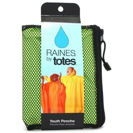 Raines Rain Poncho Youth Size Assorted Colors (Best Rain Poncho 2019)