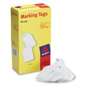 Avery 12201 Medium-Weight White Marking Tags, 2 3/4 x 1 11/16 (Box of 1000)