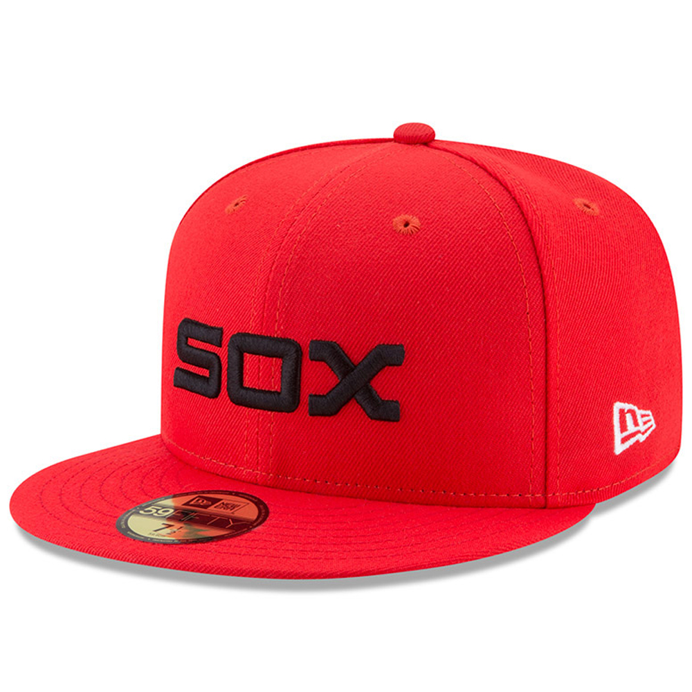 Chicago White Sox New Era Youth 2017 Players Weekend 59FIFTY Fitted Hat - Red